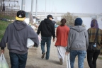 CityHeART brings food to the homeless encampments along the bed of the LA River.